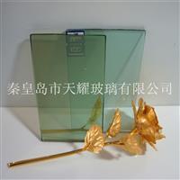 供应4mmF绿玻璃原片