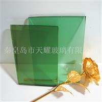 供应8mm翡翠绿玻璃厂