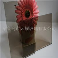 供应12mm欧茶玻璃原片厂