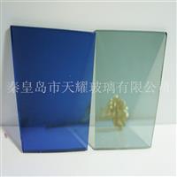 供应6mm福特蓝镀膜玻璃
