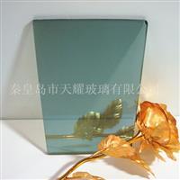 供应8mm福特蓝镀膜玻璃厂