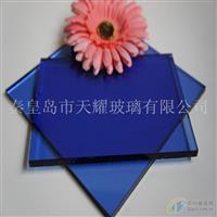 供应宝石蓝玻璃原片