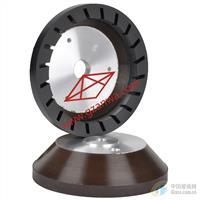 斜边机树脂轮,带齿树脂轮  铝底带齿树脂轮
