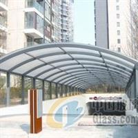 供应安装玻璃隔断玻璃雨棚