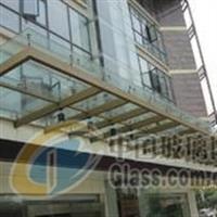 幕墙玻璃设计制作夹胶玻璃雨棚