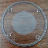 厂家大批量生产圆形阶梯钢化玻璃