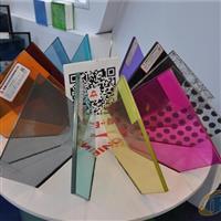彩色透明夹层PVB玻璃