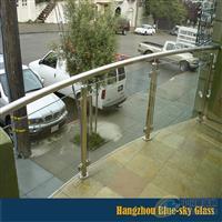 夹层玻璃护栏
