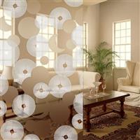 较流行的家居田园风格艺术玻璃