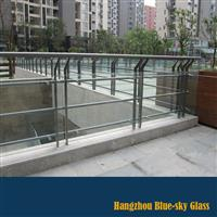 12mm钢化护栏玻璃厂