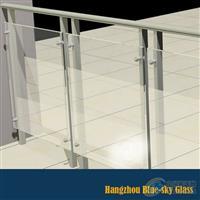 12mm钢化护栏玻璃