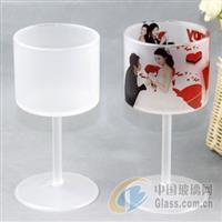 欧式高档葡萄酒杯 热转印玻璃杯