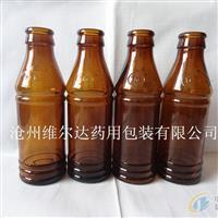 泊头林都现货供应100毫升模制口服液玻璃瓶