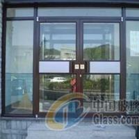 西城区别墅玻璃门安装效果图