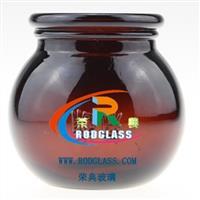 棕色拔罐玻璃瓶