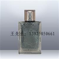 香水瓶厂家供应110ml磨砂透明玻璃香水瓶