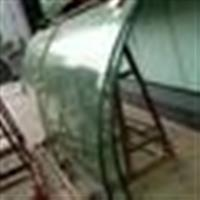 夹胶圆弧形定制 大型玻璃装拆除