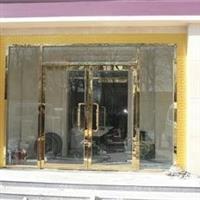 太原晋阳街安装钢化玻璃门