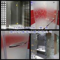 山东厂家直销淋浴房蒙砂玻璃