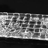 水果玻璃果盘晶白料