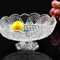 玻璃果盘晶白料