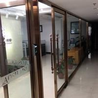 望京玻璃门安装合页玻璃门安装