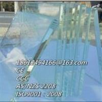 供应兰州超白钢化玻璃15mm