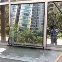 广州 珠海固定玻璃幕墙开窗 上悬窗