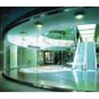 北京地区安装玻璃门玻璃安装样品