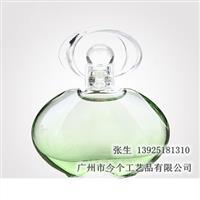 异形喷渐变色欧式玻璃香水瓶