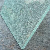 冰裂三層夾膠玻璃
