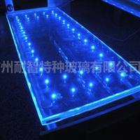 酒店玻璃LED发光玻璃特种玻璃厂