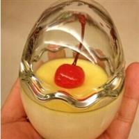 鸡蛋壳玻璃布丁瓶果冻酸奶杯