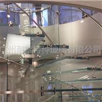 防滑玻璃楼梯钢化玻璃