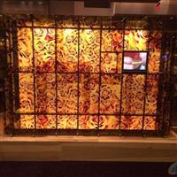 瓷釉数码打印玻璃 艺术打印玻璃