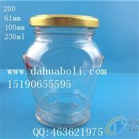 230ml辣椒酱玻璃瓶