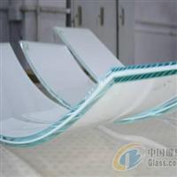 超厚夹胶弯钢玻璃