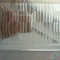 单双面无手印玉沙玻璃 磨砂玻璃厂