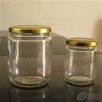 350毫升玻璃酱菜瓶马口铁盖