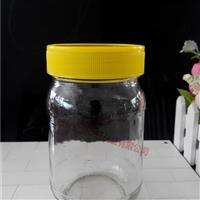 生产玻璃瓶1斤装圆形蜂蜜瓶
