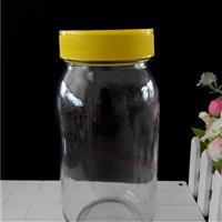 厂家直销2斤装圆蜂蜜玻璃瓶
