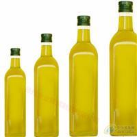厂家直销玻璃瓶方形橄榄油瓶