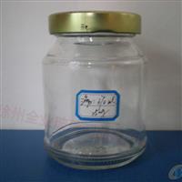 厂家直销紫云英玻璃蜂蜜瓶