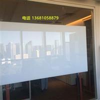办公专用超白玻璃白板安装