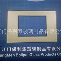 玻璃开关面板 钢化面板丝印面板厂