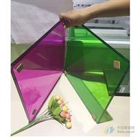 彩色夹胶玻璃   安全夹胶玻璃  钢化夹胶玻璃
