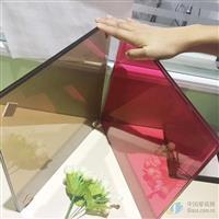 彩色夹胶玻璃   安全夹胶玻璃  钢化夹胶玻璃厂