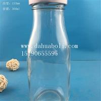 300ml丝口牛奶玻璃瓶