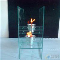 壁炉玻璃  弧形弯钢玻璃