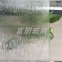 供应青岛金晶压花玻璃木纹 超白压花玻璃木纹